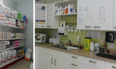 Food Area (MCRC and Hills Prescription Diet) and Pharmacy