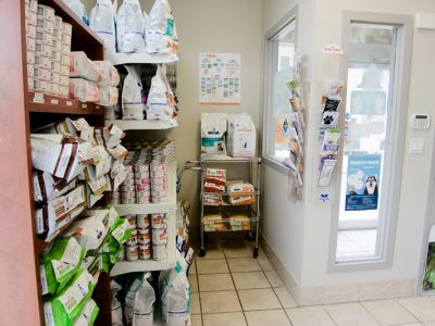Food Area (Hill's Prescription Diet and Royal Canin)